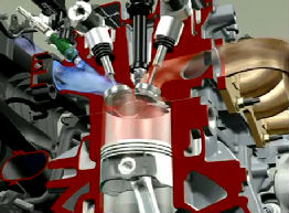 История бензиновых двигателей.