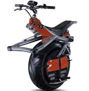 одноколесный мотоцикл скутер
